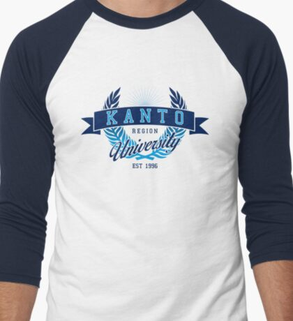 Kanto Region University Men's Baseball ¾ T-Shirt