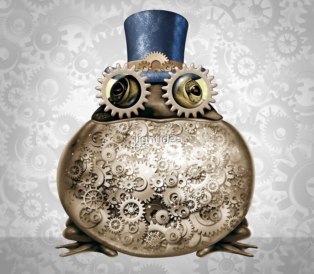 Steam Punk Frog by lightidea