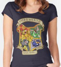ERMAHGERD! HERGWERTS! Women's Fitted Scoop T-Shirt