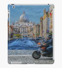 Rome intersection iPad Case/Skin