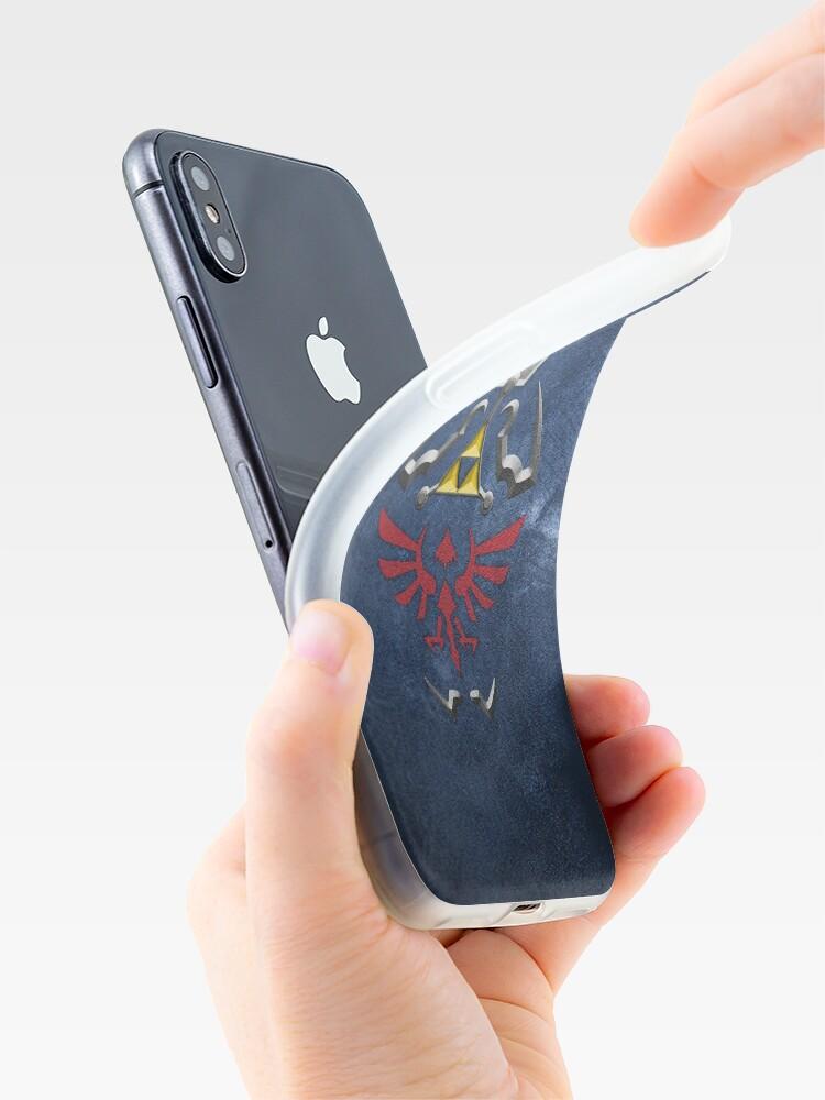 Alternative Ansicht von Zwielichtprinzessin Hylian Shield iPhone-Hülle & Cover