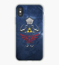 Vinilo o funda para iPhone Crepúsculo Princess Hylian Shield