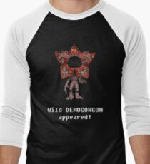 Wild DEMIGORGON appeared! Men's Baseball ¾ T-Shirt