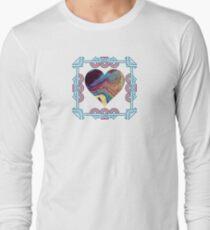 Geode (Acrylic Flow) Long Sleeve T-Shirt