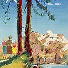 Kandersteg, Schweiz, Ski Poster von BokeeLee