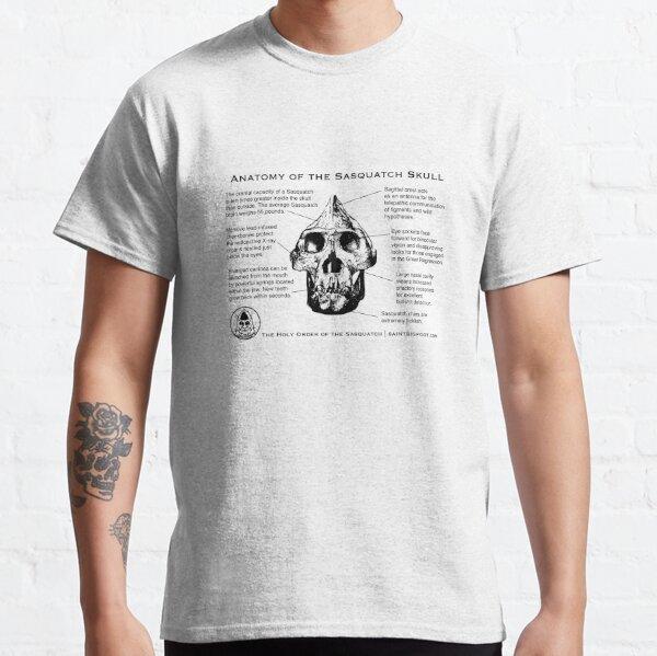 Anatomy of the Sasquatch Skull Classic T-Shirt