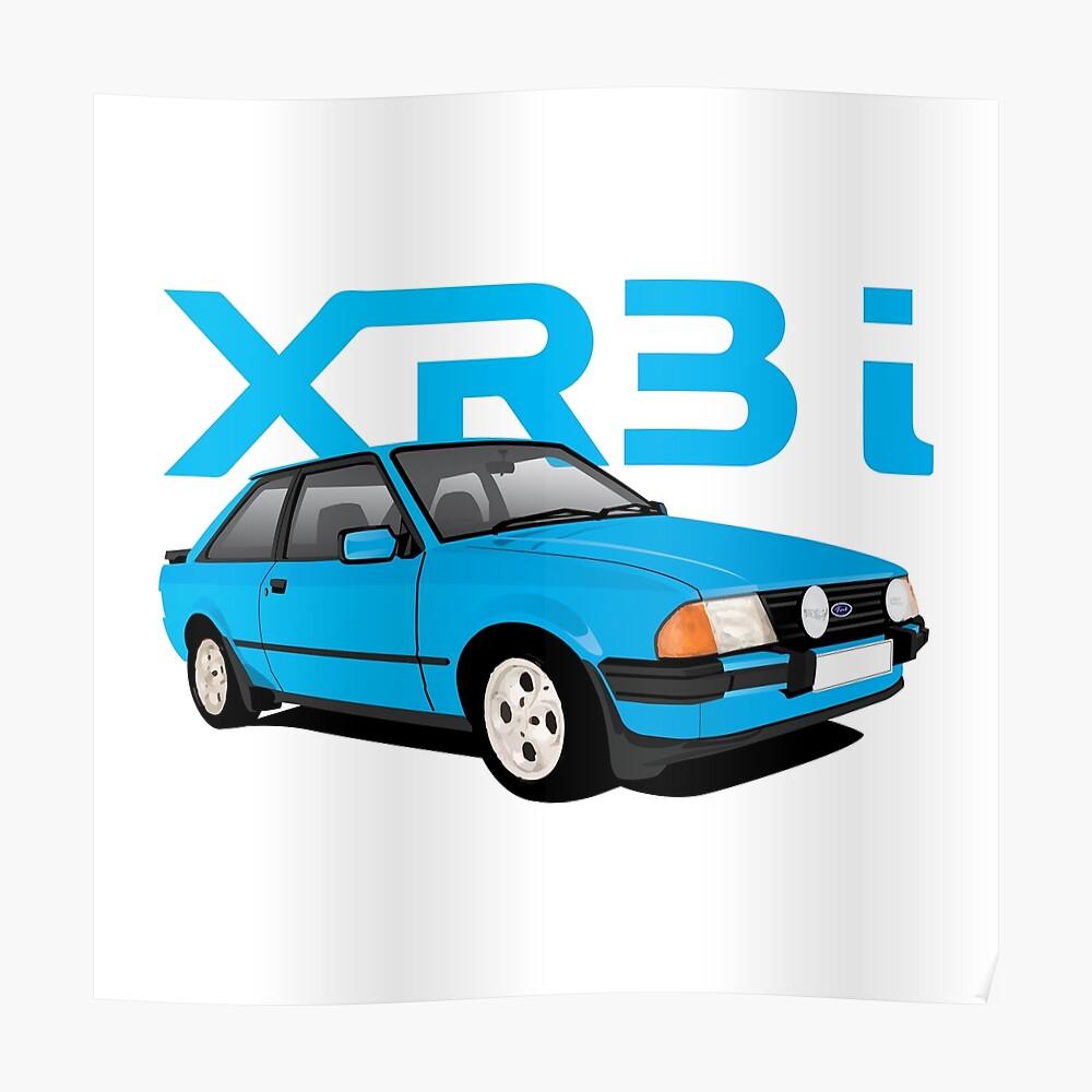 PERSONALISE IT! FORD ESCORT XR3i MK3 CAR ART MUG