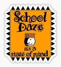 School Daze - spike lee promo replica Sticker