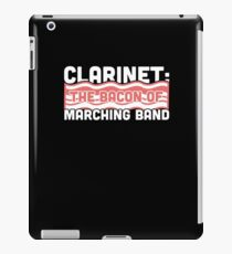 Clarinet, The Bacon Of Marching Band iPad Case/Skin