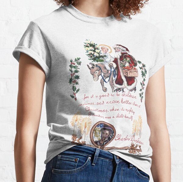 Dickens and Christmas Classic T-Shirt