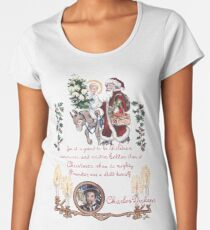 Dickens and Christmas Women's Premium T-Shirt