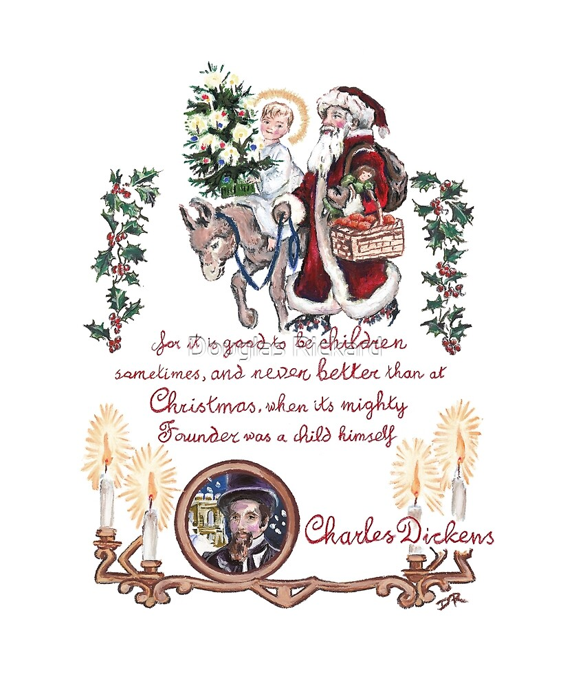 Dickens and Christmas by Douglas Rickard