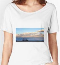 Winter Beach Day Women's Relaxed Fit T-Shirt