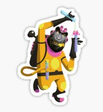 Dr. Aperaham, Mad Chemist Sticker