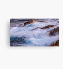 Nice detail of the Spanish coast in Costa Brava Canvas Print
