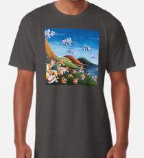 Tale of Carrots (cut) - Kids Art from Shee - Surreal Worlds Long T-Shirt