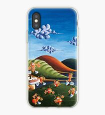 Tale of Carrots (cut) - Kids Art from Shee - Surreal Worlds iPhone Case