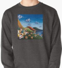 Tale of Carrots (cut) - Kids Art from Shee - Surreal Worlds Pullover
