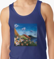 Tale of Carrots (cut) - Kids Art from Shee - Surreal Worlds Men's Tank Top