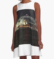 Sydney Harbour A-Line Dress