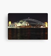 Sydney Harbour Canvas Print