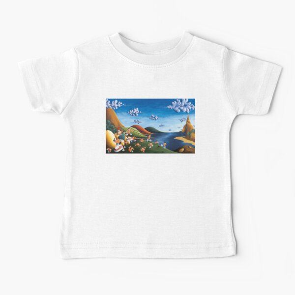 Tale of Carrots - Original Art from Shee - Surreal Worlds Baby T-Shirt