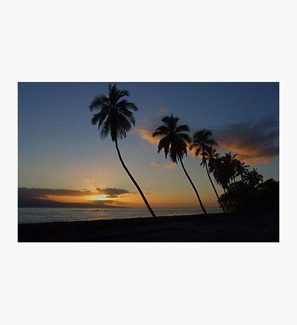 2007 ~ Lahaina Sunset  Photographic Print
