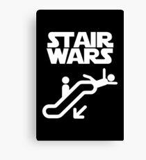 stair wars Canvas Print