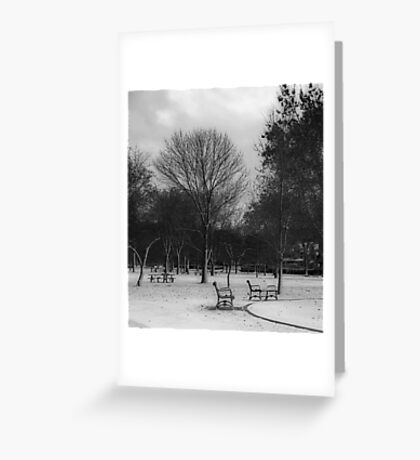 nobody's here Greeting Card
