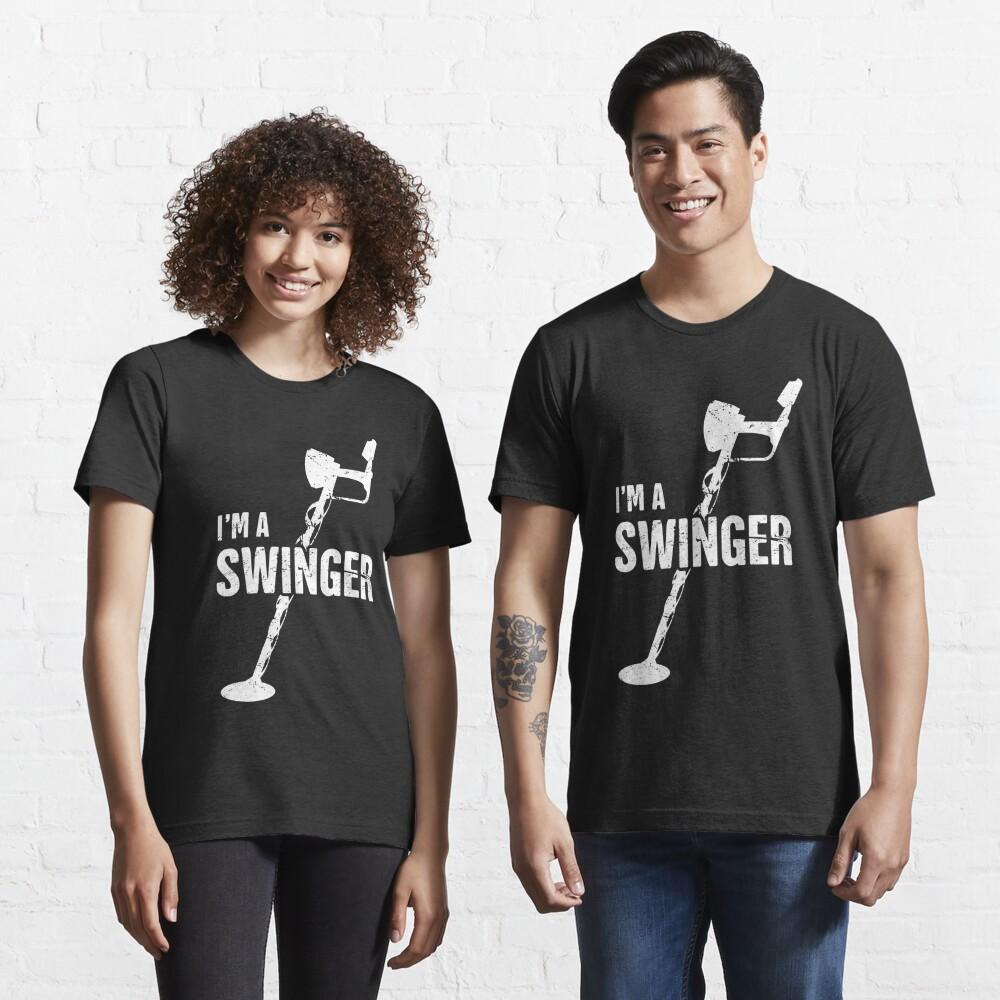 Swinger | Funny Metal Detecting Essential T-Shirt