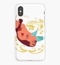 Pink Rhino iPhone Case/Skin