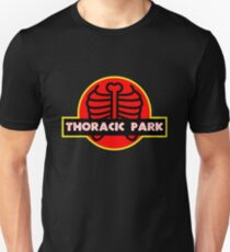 9ac83a501 Thoracic Park Funny Chiropractor Shirt Slim Fit T-Shirt
