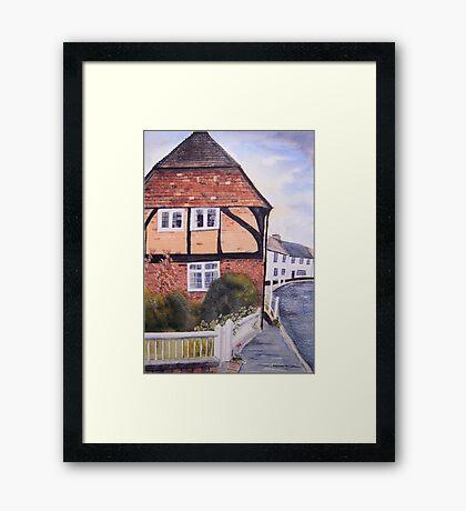 Wickham, Hampshire, UK Framed Print