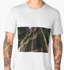Old Home with the Full Moon Men's Premium T-Shirt