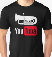 Low Brass Kicks Ass Sticker. YouTuba Funny Shirt For Tuba Players Unisex T- Shirt 7e83c759e