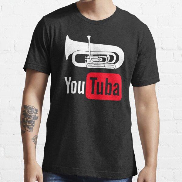 YouTuba Funny Shirt For Tuba Players Essential T-Shirt