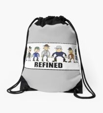 The Refined Crew Drawstring Bag