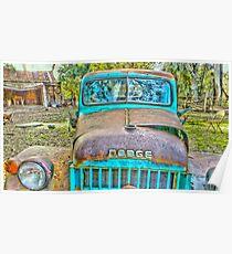 Old Dodge Trucks.. Poster