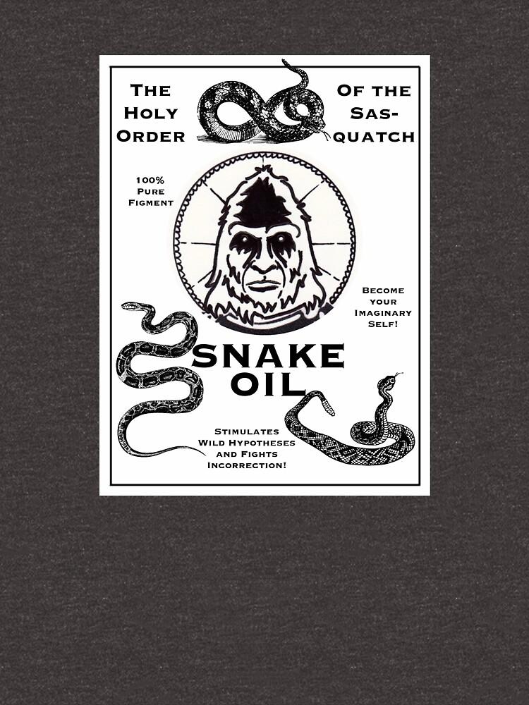 Saint Bigfoot Snake Oil by SaintBigfoot