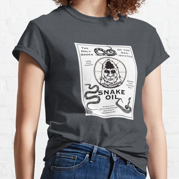 Saint Bigfoot Snake Oil Classic T-Shirt