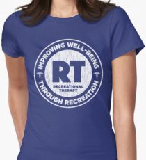 Therapeutic Recreational Therapist Gifts For RT Month Women's Fitted T-Shirt