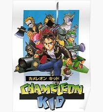 Kid Chameleon Poster