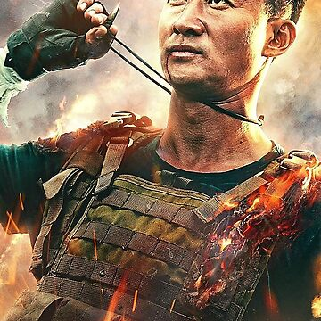 Wu Jing Wolf Warrior 2 Poster by bammydfbb