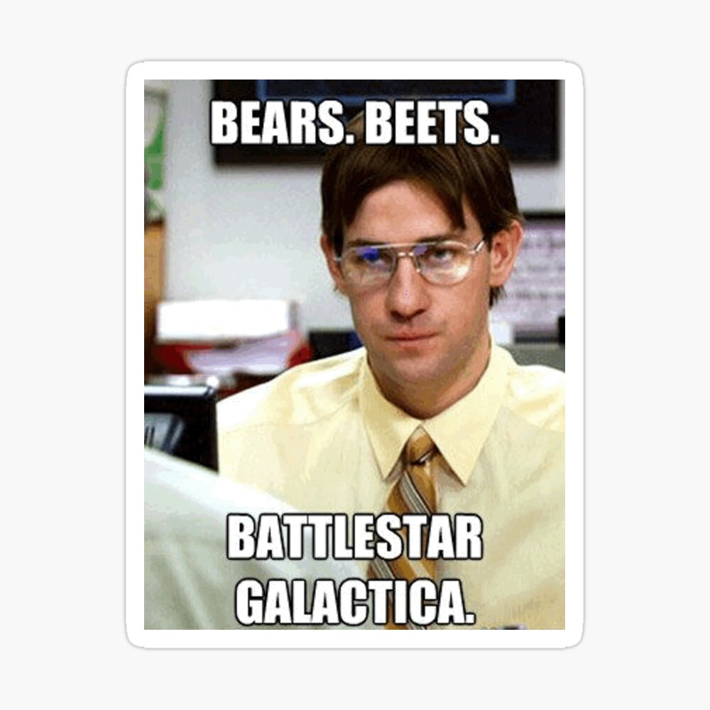 Bears Beets Battlestar Galactica Iphone Case Cover By Emswim07 Redbubble