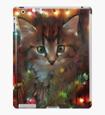 Playful Christmas Kitty iPad Case/Skin