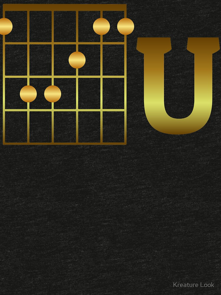 F Chord U Guitarists Tshirt Guitar Gifts For Men Guitar Gifts