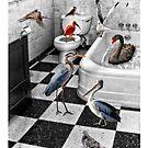 Neighborhood Birdbath 1 by CarolM