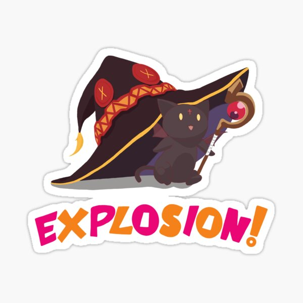 Konosuba Chomusuke - Explosion!!! Sticker