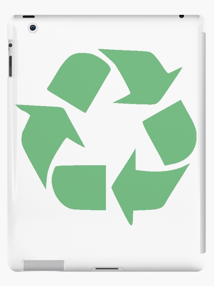 Recycle Symbol Distressed Earth Day Environment Gift Ipad Cases