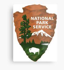 National Park Service Metal Print